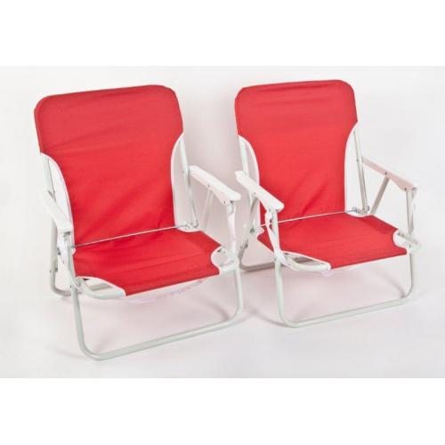 סט 2 כסאות פקניק וחוף ירוק