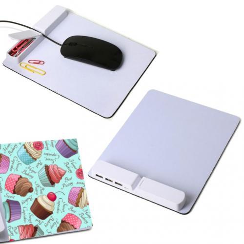 פד עכבר ארגונית מפצל USB - מיוחד להדפסה צבעונית סובלימציה