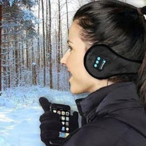 מחמם אוזניים עם אוזניות BLUETOOTH