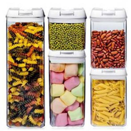מארז 5 קופסאות במידות שונות לאחסון מזון באריזת מתנה