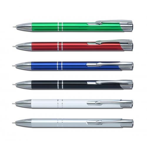 """""""קמפרי"""" עט מתכת חוד סיכה עם דיו ג'ל"""