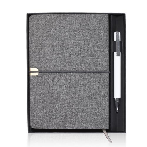 קופסא מהודרת למחברת עם מקום יעודי לעט