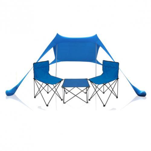 סט ציליה, זוג כסאות ושולחן לבילוי בים