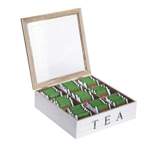 קופסת איחסון מעוצבת לתה