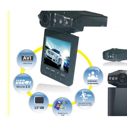 מצלמת רכב קלה לשימוש והתקנה