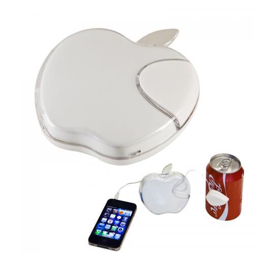רמקול רטט בצורת תפוח