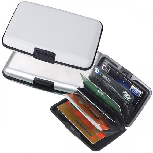 קרדיט מארז אלומניום לכרטיסי אשראי עם חוצצים