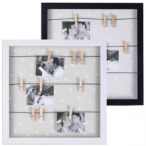 """מסגרת עם 9 אטבים לתמונות 30/30 ס""""מ"""