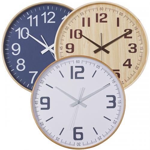 """שעון קיר במבוק  בקוטר 40 ס""""מ"""