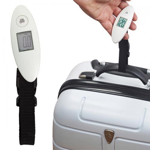 משקל  מזוודה לנסיעות דיגיטלי לבן