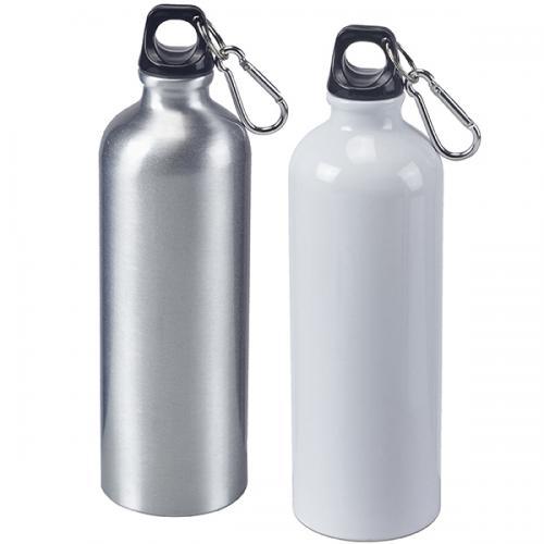 בקבוק ספורט 800 מל' עשוי אלומניום עם מכסה אחיזה ותופסן