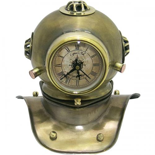שעון קסדת אמודאים מנחושת
