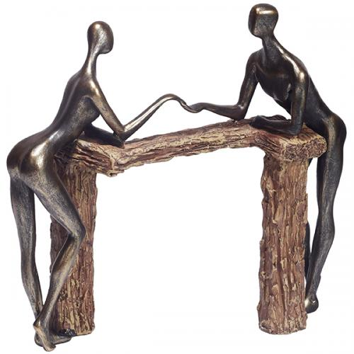 """פסל אומנותי - """" יד ביד """""""