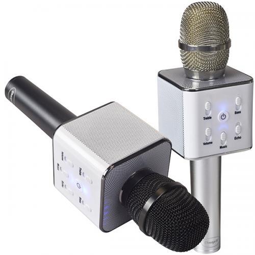 מיקרופון+רמקול קריוקי אישי BT  במארז קשיח