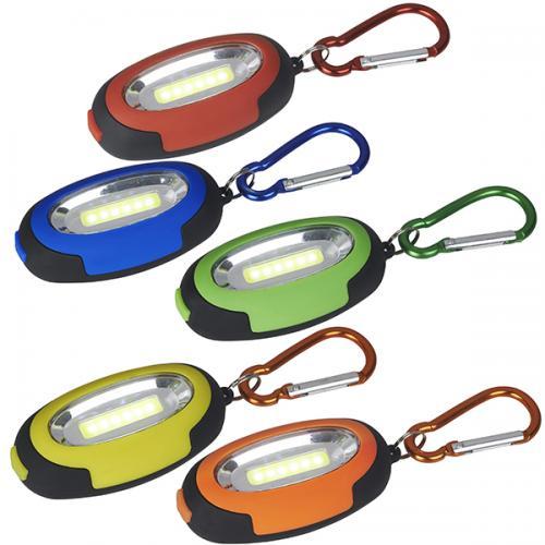 פנס מחזיק מפתחות תאורת COB 1W בהירה במיוחד 90 לומנס