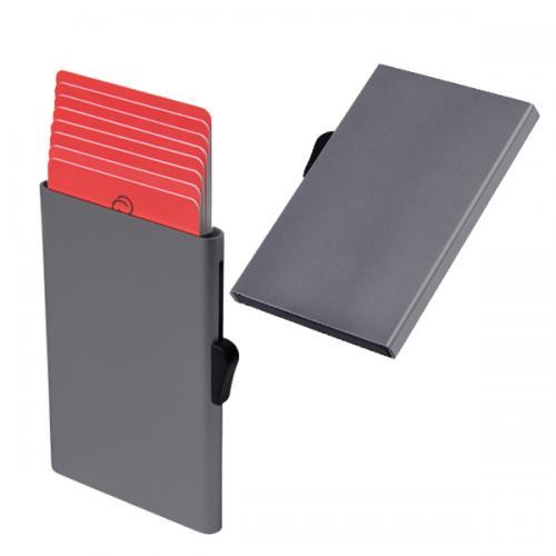 ארנק הבטיחות המקורי C-SECURE מתכתי לכרטיסי אשראי FRID and NFC  דגם