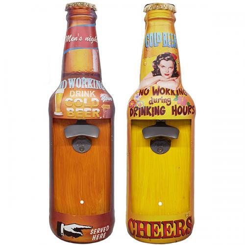 פותחן בקבוקי בירה 'CHEERS' לתליה על הקיר
