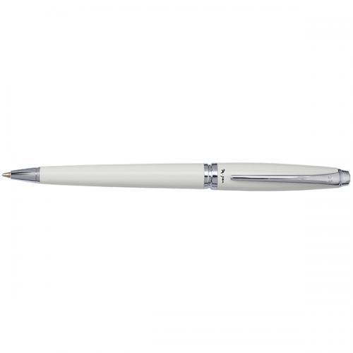 עט X-Pen רגטה  כדורי Regatta לבן כסף  מבריק