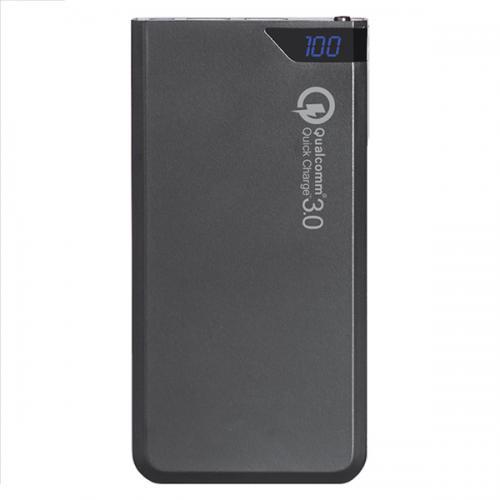 """פאוור בנק תוצרת Charge-It Qualcomm בטכנולוגית """"טעינה מהירה"""" בנפח 10,000 mAh טעינה מהירה במיוחד QC-610"""
