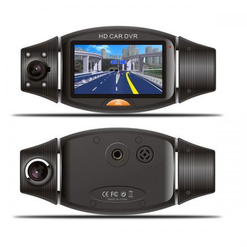 מצלמת דרך דו-כיוונית לרכב עם זוית רחבה 2.7 אינץ' R310 HD