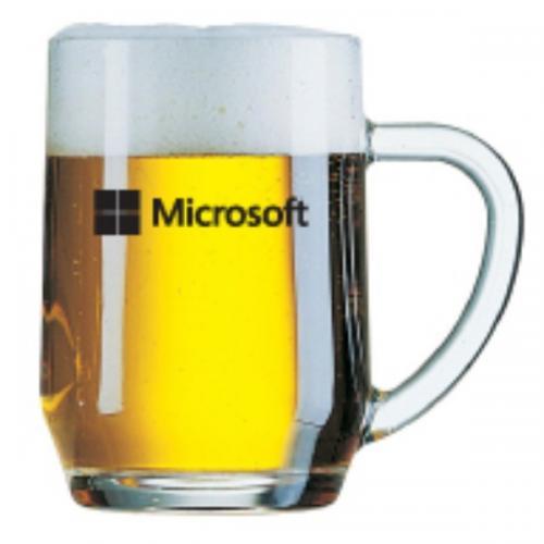 סרמוני - כוס בירה חלקה עם ידית     560 ml