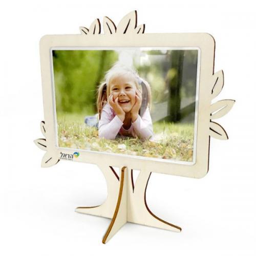 מסגרת לתמונה בצורת עץ