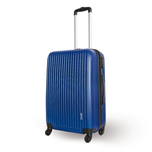 המזוודה הטרולית הכחולה