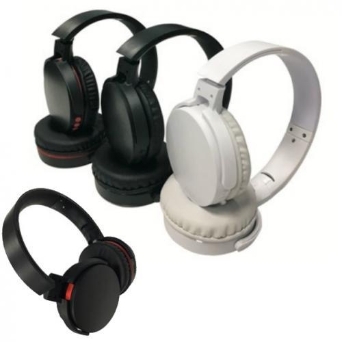 fly headphone אוזניות ספורט אלחוטיות מתקפלות כוללות רדיו מובנה ונגן MP3