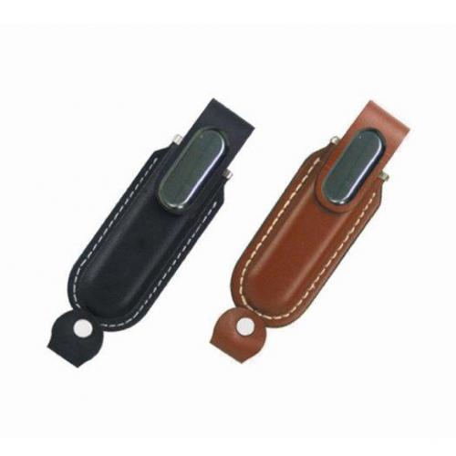 מחזיק מפתחות USB מעור