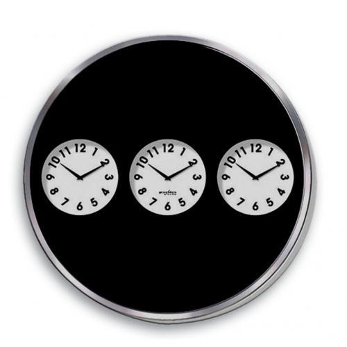 שעון עם שלושה אזורי זמן