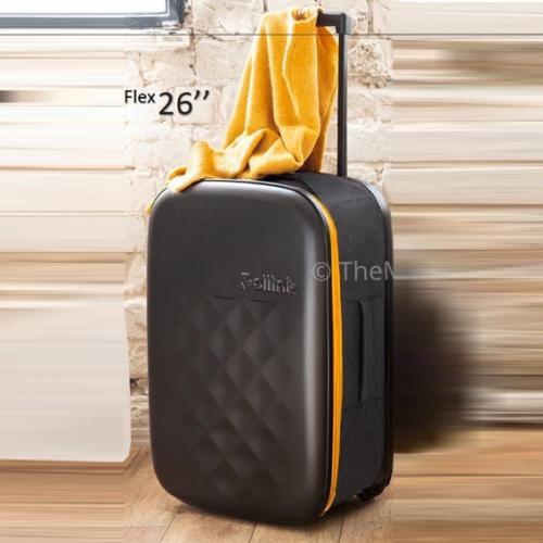 """המזוודה הדקה בעולם FLEX by ROLLINK גודל """"26"""
