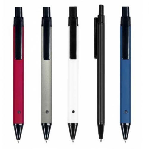 עט מתכת גימור מט