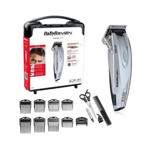 מכונת תספורת מקצועית -   pro 45 intensiv חשמלית ונטענת סכינים עבים במיוחד מבית BABYLISS