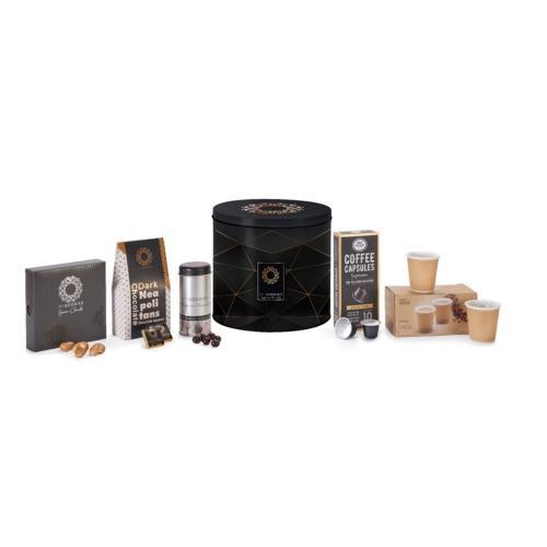 מארז שביט C הכוללות כוסות, וקפסולות קפה אספרסו, ועוד פינוקים