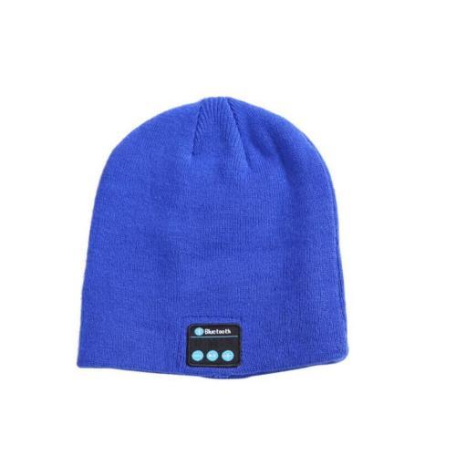 כובע סרוג עם נגן מוסיקה. BLUE TOOTH
