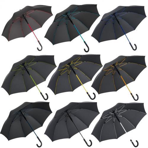 מטריה סופר פרימיום איכותית ומדליקה עם שלדה צבעוניות - FARE