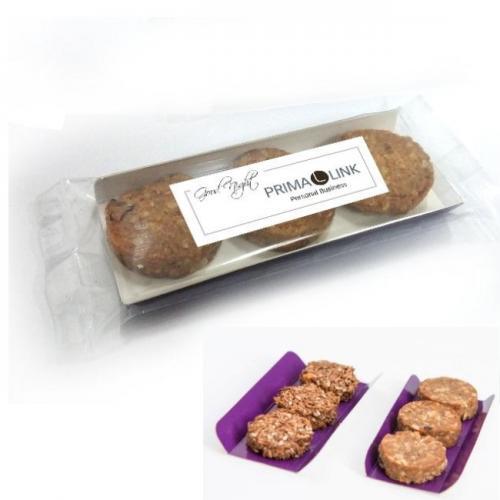 מתוק בשלושה מגשית 3 עוגיות