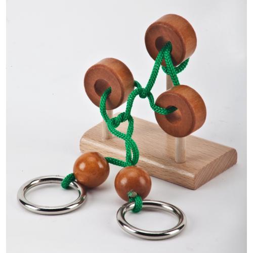 משחק מנהלים מעץ, מתכת וחבל- טופסי
