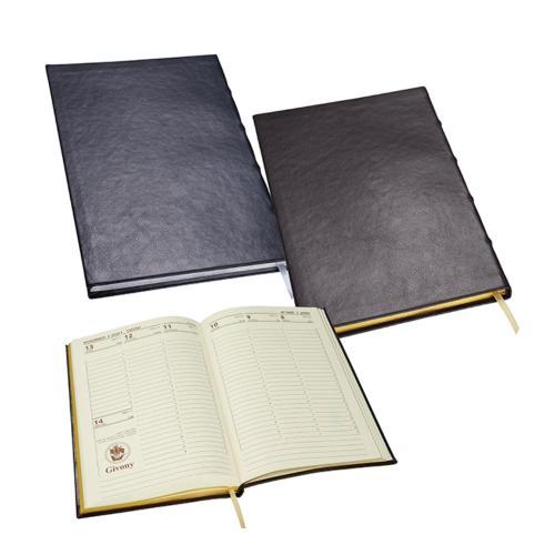 מחברת עסקים גבעוני יוקרתית , 160 עמוד עם שוליים מוכספים/מוזהבים
