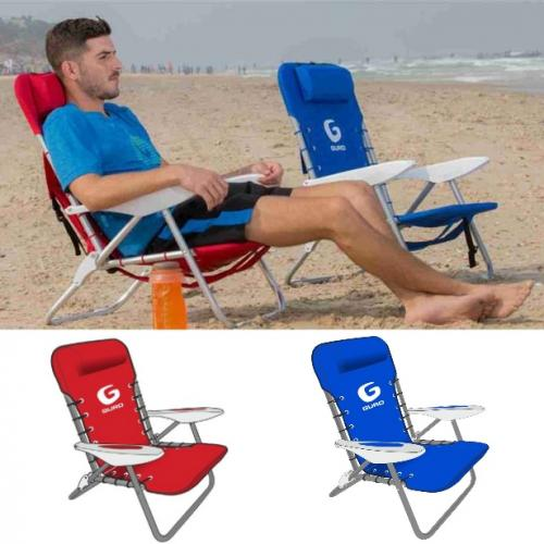 כסא פלדה מתקפל איכותי בעל 4 מצבים - GURO