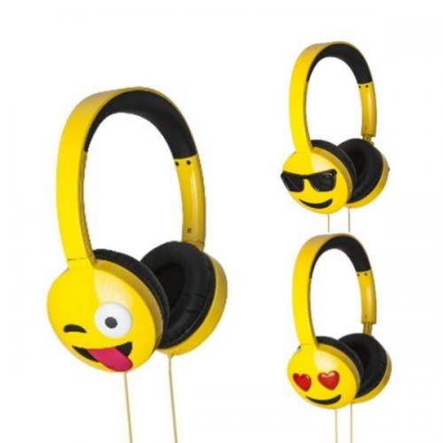 אוזניות On Ear מדליקות עם פרצופי אימוג'י איכותיות של המותג JAM