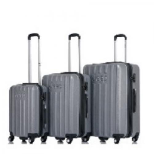 סט 3 מזוודות קשיחות מסדרת MAKALU של JEEP