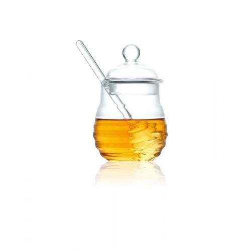 כלי דבש מעוצב עשוי זכוכית
