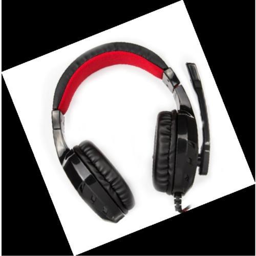 אוזניות קשת סטריאו עם מיקרופון לחובבי הגיימינג והמוסיקה
