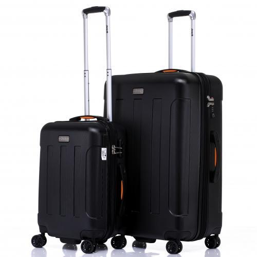 סט 2 מזוודות קשיחות  24+28 מסדרת MIAMI של JEEP
