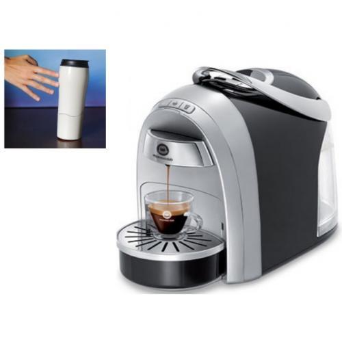 מכונת קפה Mushroom Pro מבית Club Espresso + ערכה עם 10 טעימות + זוג כוסות טרמיות שלא נופלות