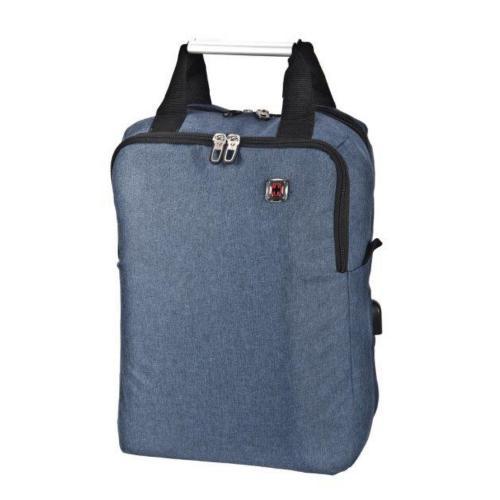 תיק גב  SWISS BASE  כחול או אפור