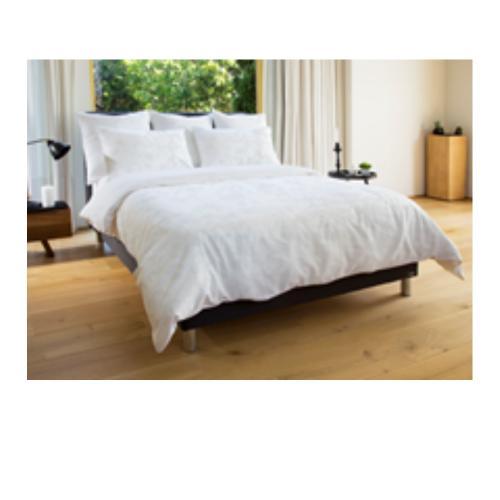 מצעי כותנה white night - מיטה זוגית 160/200 סמ לבן כותנה 100%