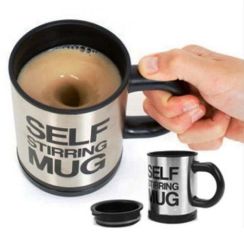 כוס/ספל טרמי מתערבבת אוטומטית – כוס מקציפה