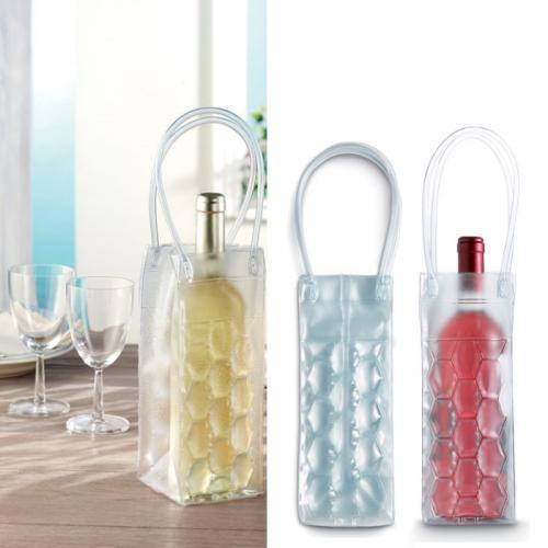 תיק קירור לבקבוק יין או שמפנייה - עם שכבת הקפאה לפריזר